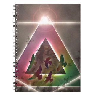 The Flock Spiral Notebooks