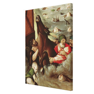 The Flood, 1516 Canvas Print
