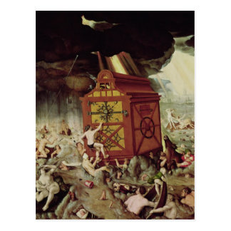 The Flood, 1516 Postcard