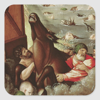 The Flood, 1516 Square Sticker