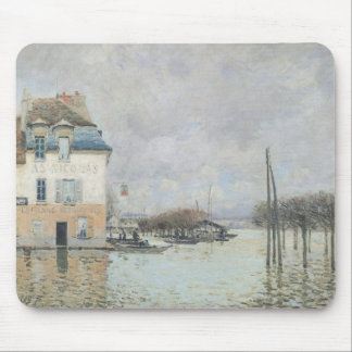 The Flood at Port-Marly, 1876 Mouse Pads
