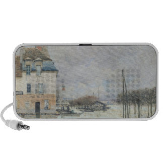The Flood at Port-Marly, 1876 iPhone Speaker