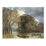The Flood at Saint-Cloud, 1855 Post Card