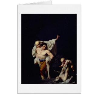 The Flood, c.1789 (oil on canvas) Card