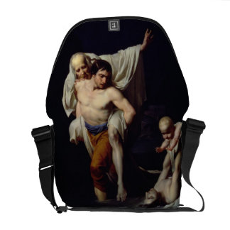The Flood, c.1789 (oil on canvas) Messenger Bags