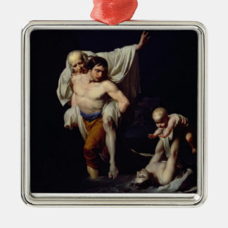 The Flood, c.1789 (oil on canvas) Metal Ornament