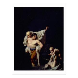 The Flood, c.1789 (oil on canvas) Postcard