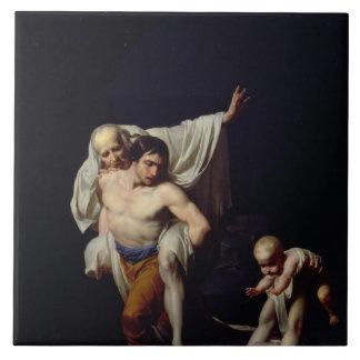 The Flood, c.1789 (oil on canvas) Tile