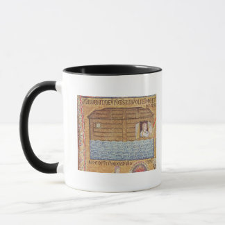 The Flood, from the Atrium, detail of Noah Mug