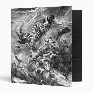 The Flood, genesis 7 3 Ring Binder