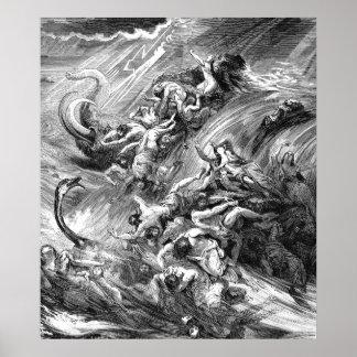 The Flood, genesis 7 Poster