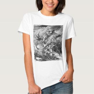 The Flood, genesis 7 T Shirt