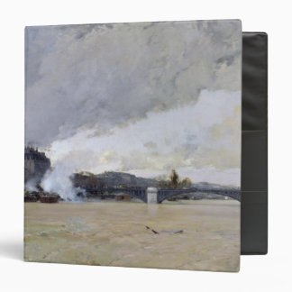 The Flooding of the Seine, c.1903 3 Ring Binder