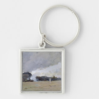 The Flooding of the Seine, c.1903 Keychain