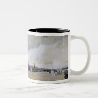 The Flooding of the Seine, c.1903 Two-Tone Coffee Mug