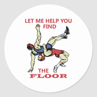 The Floor Classic Round Sticker