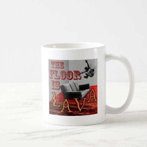 The Floor is LAVA! Coffee Mug