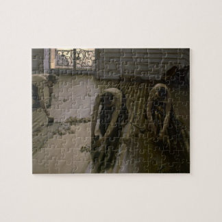 The Floor Scrapers by Gustave Caillebotte Jigsaw Puzzle