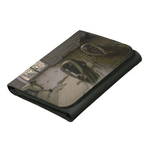 The Floor Scrapers by Gustave Caillebotte Leather Wallets ...