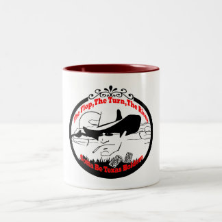 The Flop,TheTurn,The River-Texas Holdem Two-Tone Coffee Mug