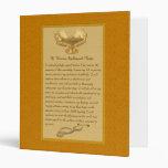The Florence Nightingale Pledge 3 Ring Binders