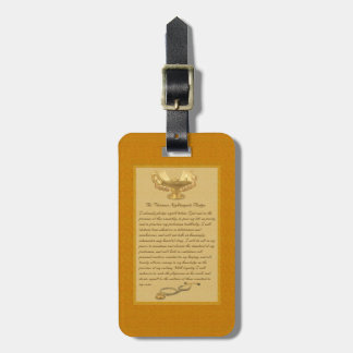 The Florence Nightingale Pledge Bag Tag