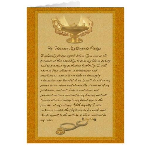 The Florence Nightingale Pledge Greeting Cards