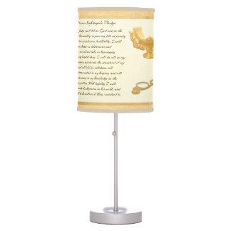 The Florence Nightingale Pledge Desk Lamp