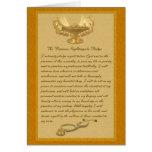 The Florence Nightingale Pledge Greeting Card