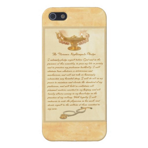 The Florence Nightingale Pledge Covers For iPhone 5