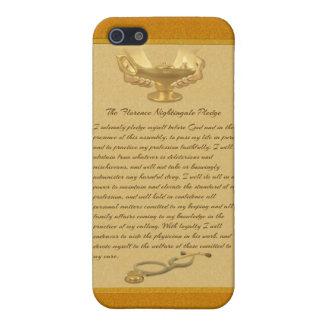 The Florence Nightingale Pledge iPhone SE/5/5s Case