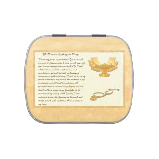 The Florence Nightingale Pledge Jelly Belly Tins