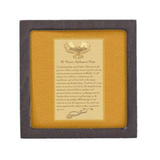 The Florence Nightingale Pledge Keepsake Box