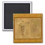 The Florence Nightingale Pledge 2 Inch Square Magnet