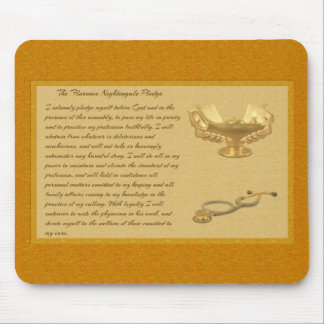 The Florence Nightingale Pledge Mouse Pad