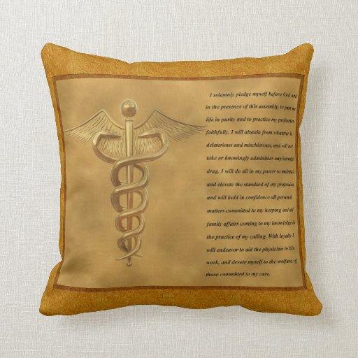The Florence Nightingale Pledge Throw Pillow