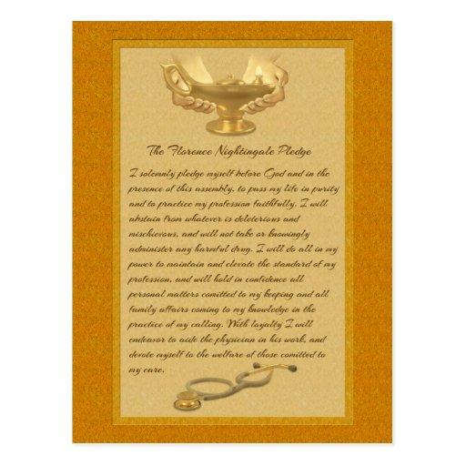 The Florence Nightingale Pledge Postcards