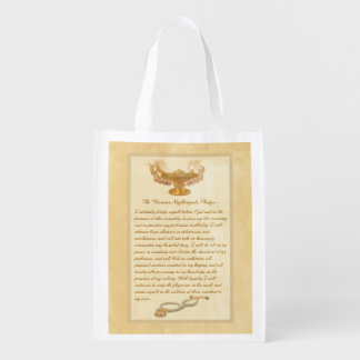 The Florence Nightingale Pledge Reusable Grocery Bags
