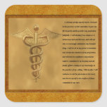 The Florence Nightingale Pledge Square Sticker