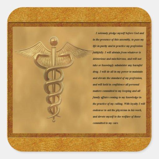 The Florence Nightingale Pledge Stickers