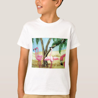 """The Florida Flamingos"" Kid's Tee"