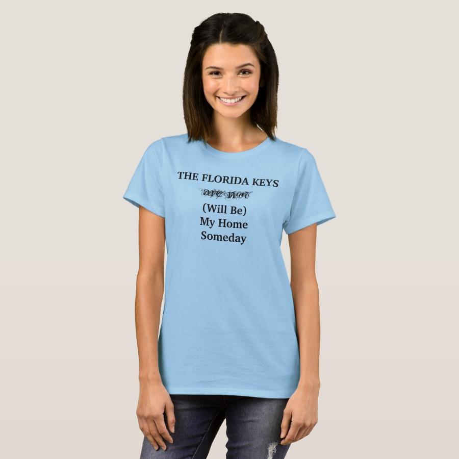 THE FLORIDA KEYS Home Travel Tropical Cute T-Shirt - Best Selling Long-Sleeve Street Fashion Shirt Designs