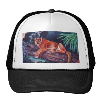 The Florida panther in the swamp Trucker Hat