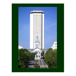 The Florida State Capitol, in Tallahassee, Florida Postcard