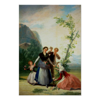 The Florists or Spring, 1786 Poster