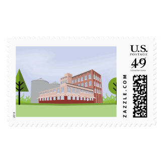 The Flour Mill, McKinney Texas Postage