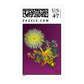 The Flower Experiment(Digital)by Julian P. Flores Postage Stamp
