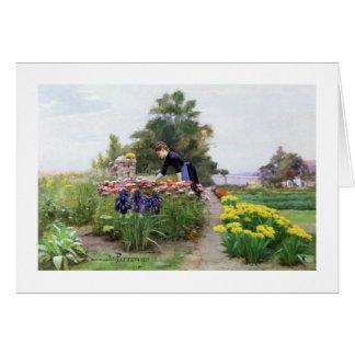 The Flower Garden Card