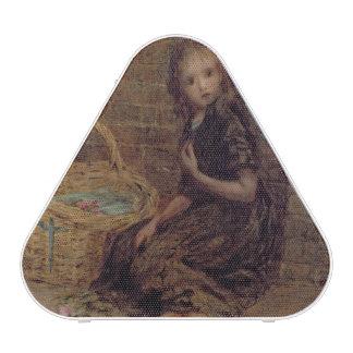 The Flower Girl, 1872 (oil on canvas) Speaker
