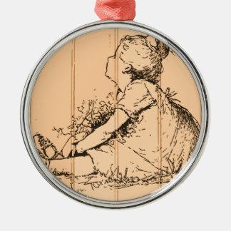 The Flower Girl Ornaments